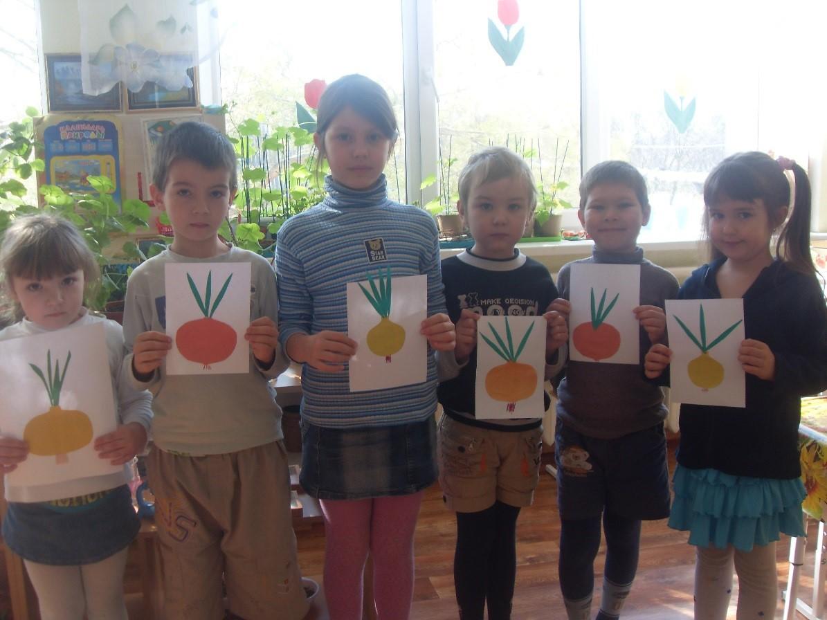 картинка лука репчатого для детей