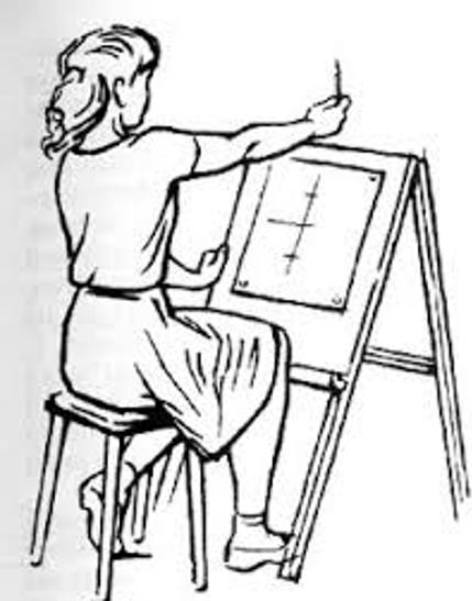 как измерить карандашом сложную картинку свою многовековую