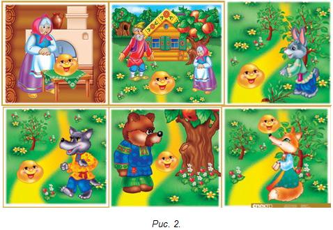 картинки для детей к сказке колобок
